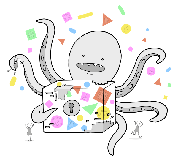 It's the Octopus of Digital Preservation Risks! Run for your lives/bits!